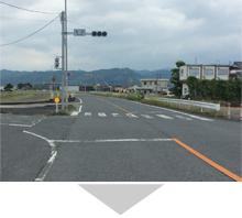 浮羽バイパス 宮田信号